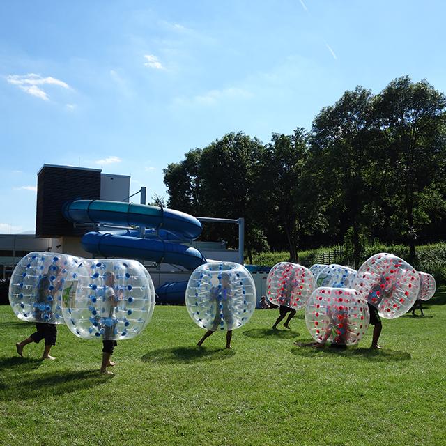 Bubble Ball – Die Fußball-Gaudi mit der extra Knautschzone