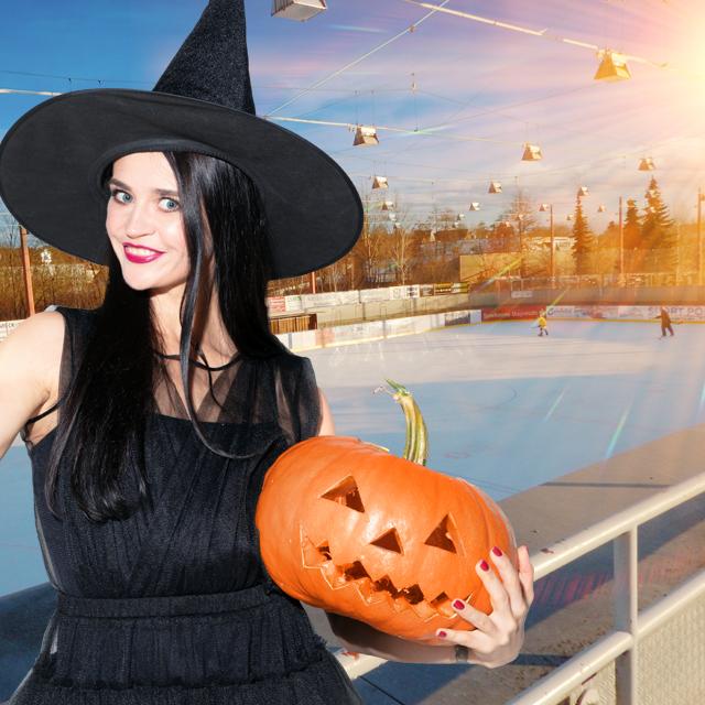 Halloween-Lauf im Eisstadion