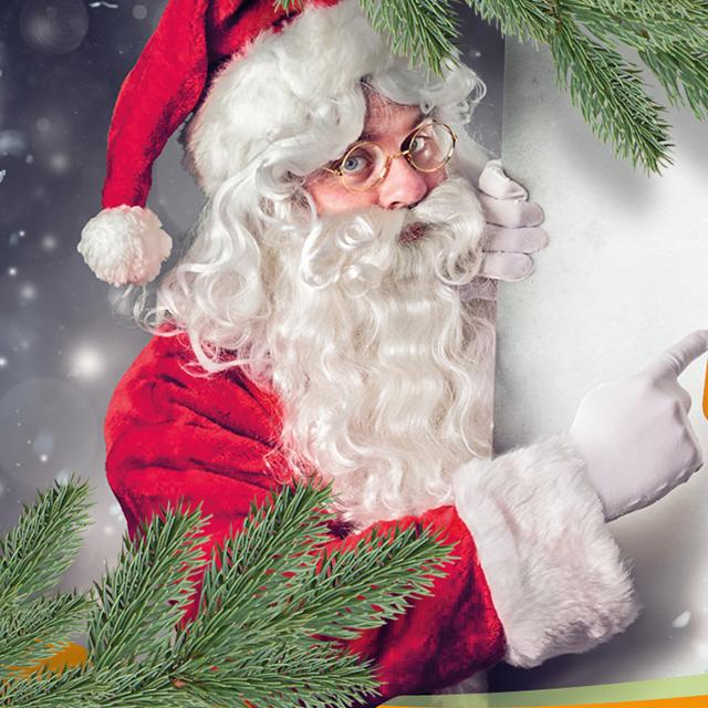 Der Nikolaus kommt vorbei!